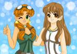 Sasha and Anya