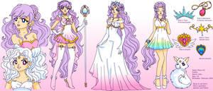 Sailor Moon OC Ref Sheet: Kiku/Nova
