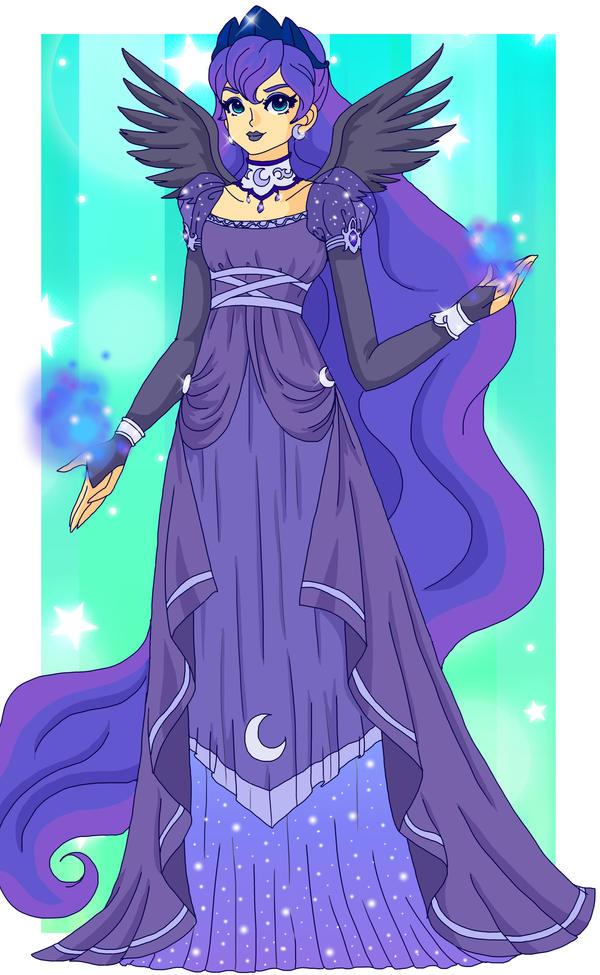MLP - Princess Luna by Sailor-Serenity on DeviantArt