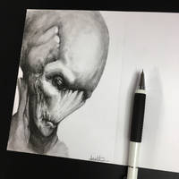 Another Alien :)  by anythingbuthumans