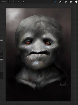 iPad drawing.