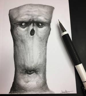 Graphite doodle.