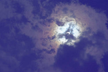 2017 Solar Eclipse from Michigan by dragonarts