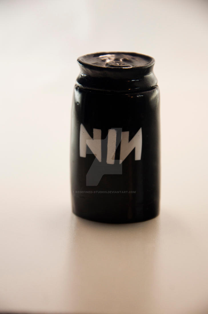 Nin black pill bottle container stash box by redefined for Black box container studios