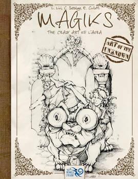 Cover: Magiks - the Crazy Art of L'Aura