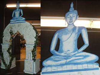 'the king and i' buddha arch