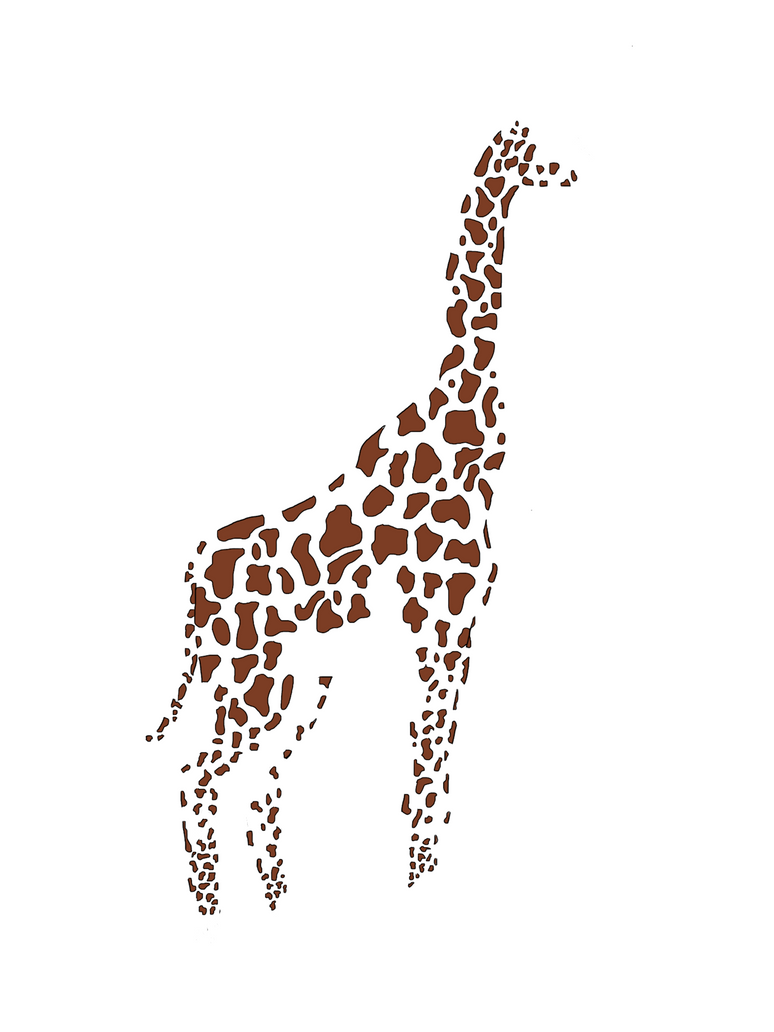 Hipster Giraffe Wallpaper Giraffe Drawin Drawing
