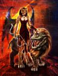 Sekhmet Darkwing Lady of Flame