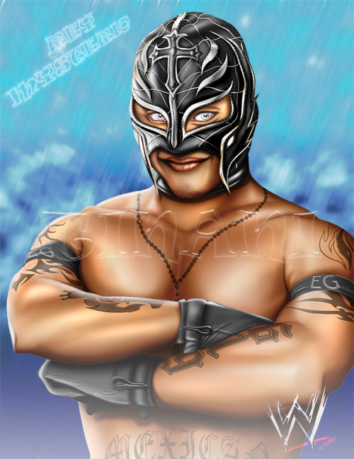 Rey Mysterio - Photoshop by Tinani on DeviantArt