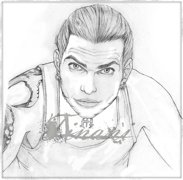 Jeff hardy 02 by tinani on deviantart for Jeff hardy coloring pages