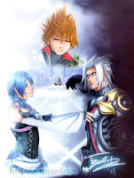 Kingdom Hearts_Birth by Sleep by Tinani