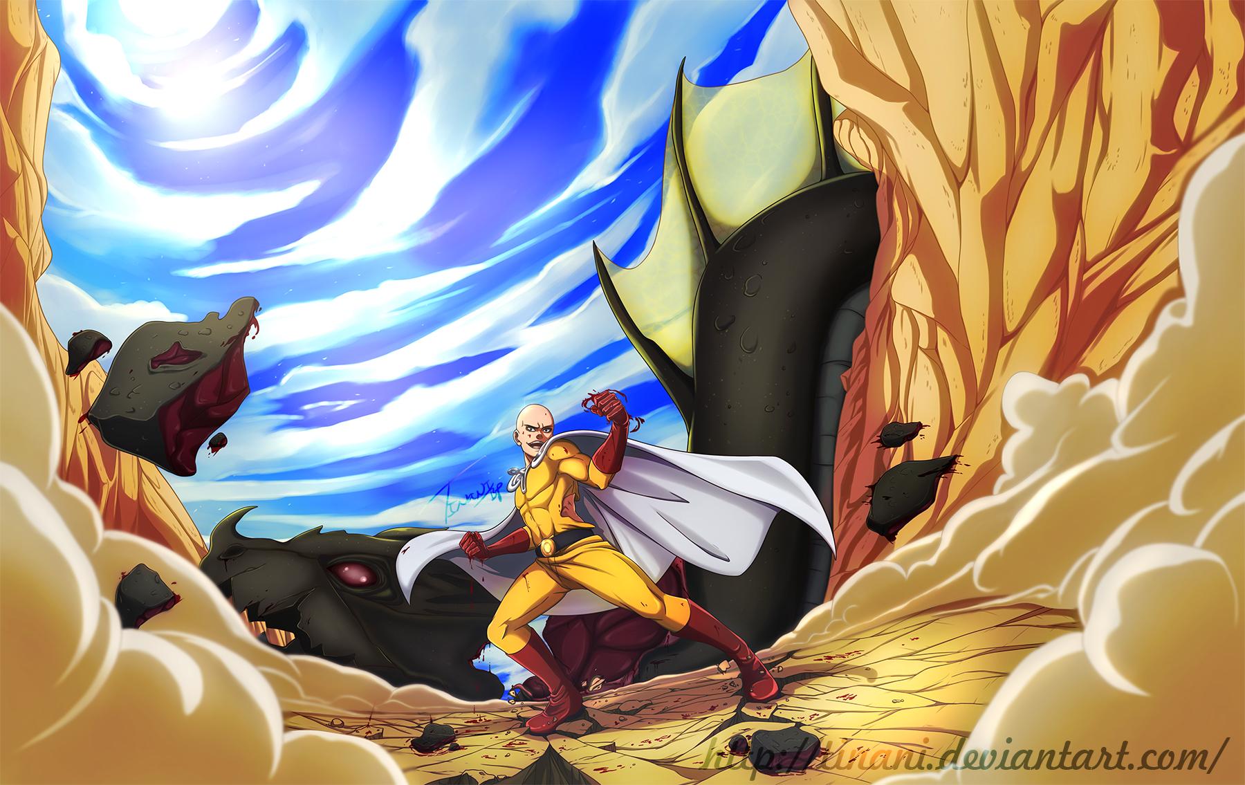 One Punch Man - Saitama by Tinani on DeviantArt