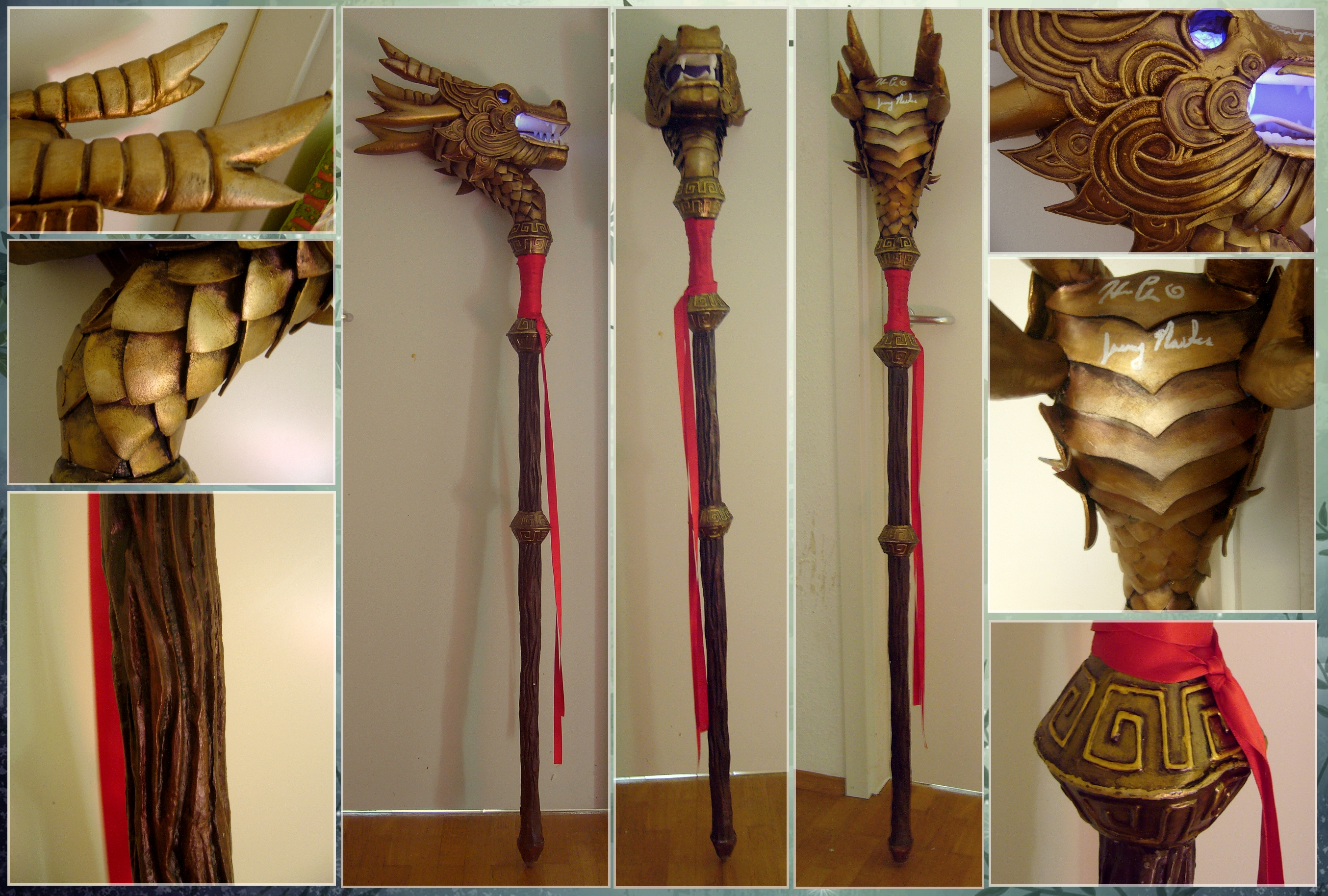 Dragon Staff Diablo 3 Wizard By Murmeltierchen On Deviantart