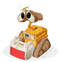Wall-E by DrZime