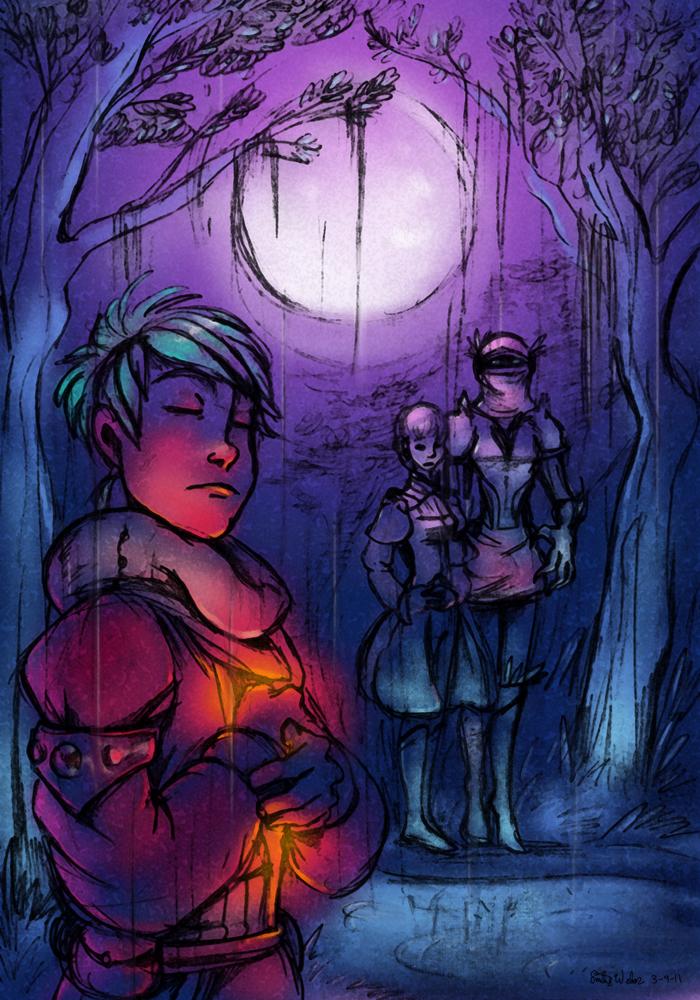 Rain on a Moonlit Night by Zimeta