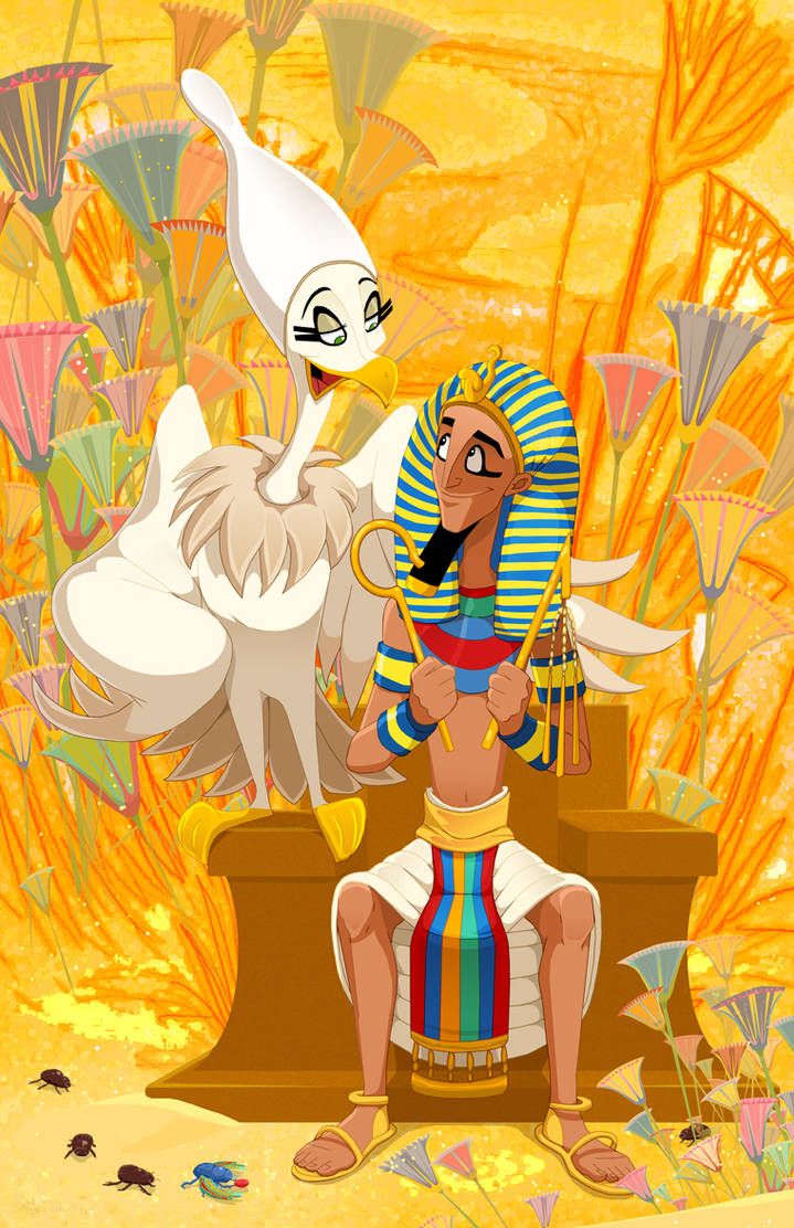 To Be a Pharaoh by DrZime
