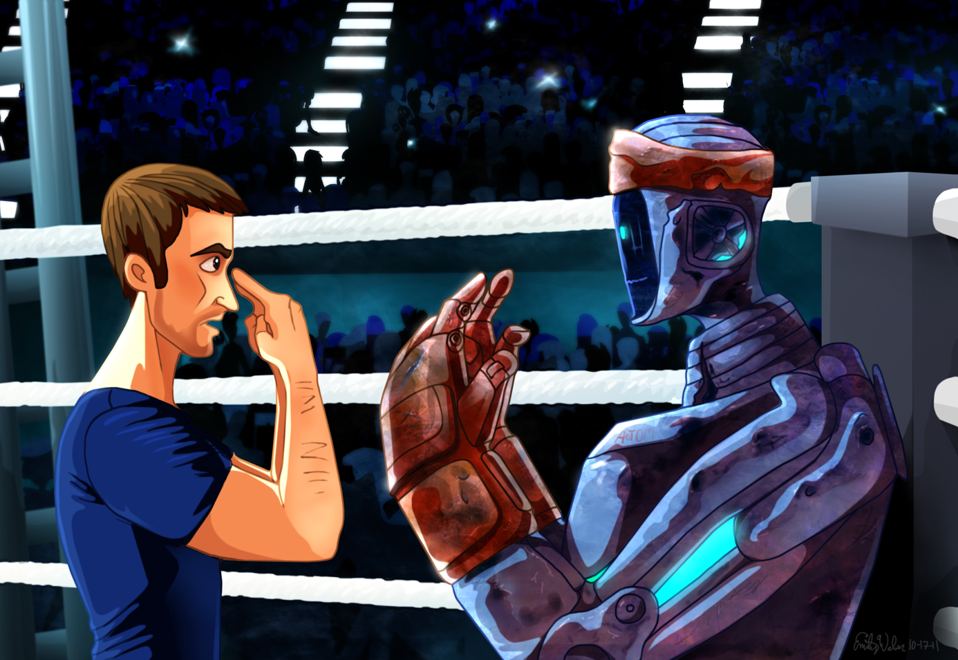 Real Steel by Zimeta