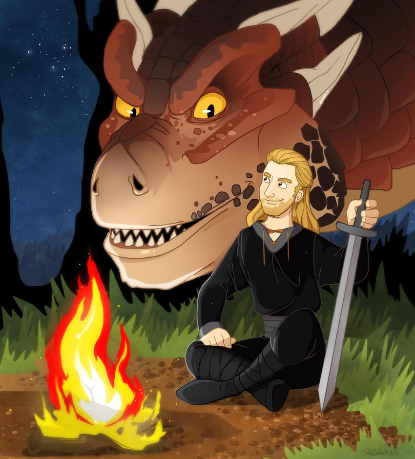 Bowen and Draco by Zimeta