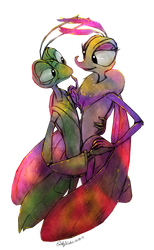 Manny and Gypsy by DrZime
