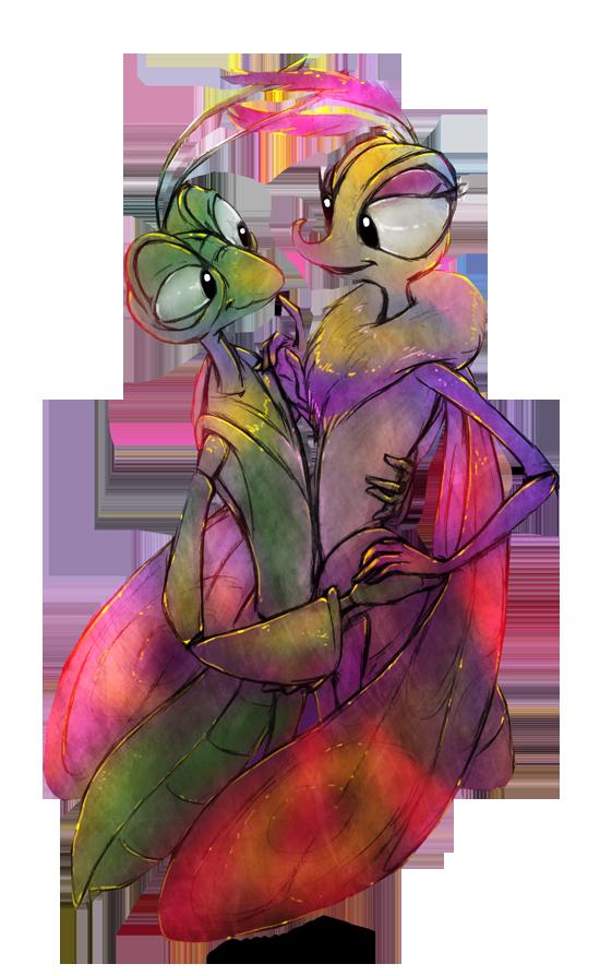 Manny and Gypsy by Zimeta