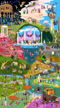 Disney Girls Collaboration by DrZime