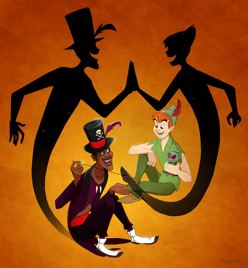 Shadow Man and Lost Boy by Zimeta