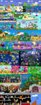 Massive Mario Collaboration by DrZime