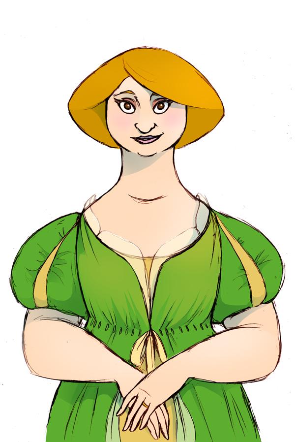 Green Lady by Zimeta