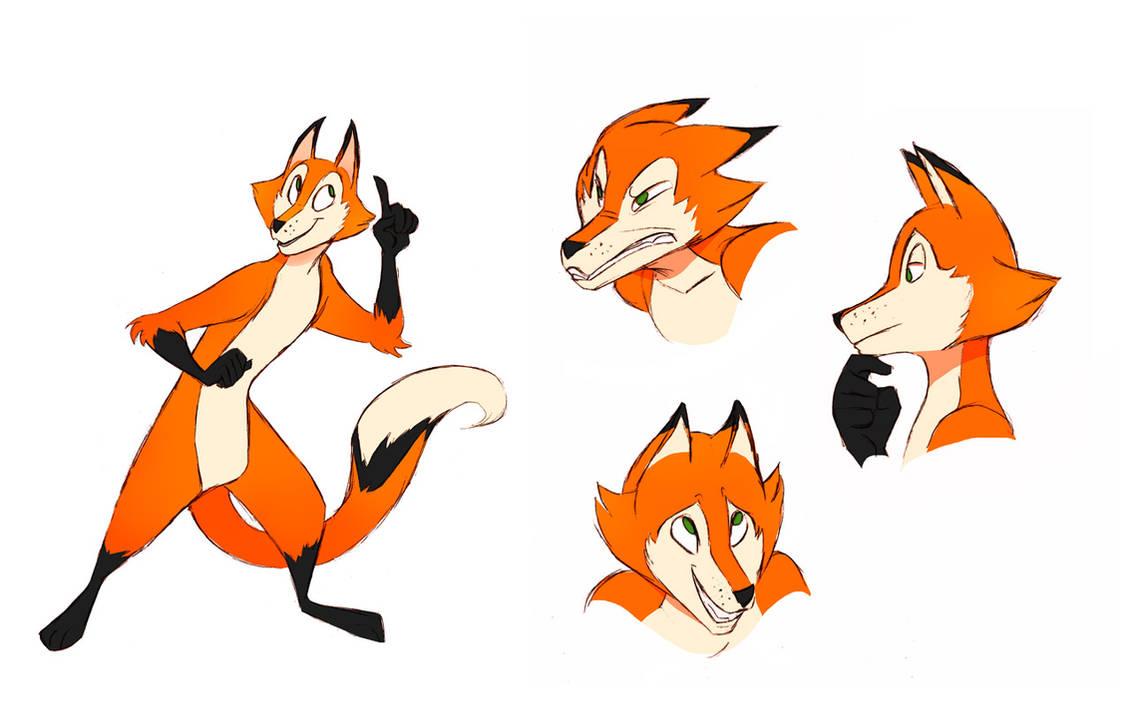 Cartoon Fox by DrZime