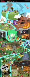 Massive Legend of Zelda Collaboration by DrZime