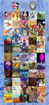 55 Classic Disney Movies Collaboration
