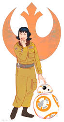 WOS - Rose Tico by DrZime