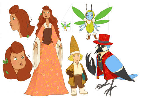 Gallia the Gardener Characters