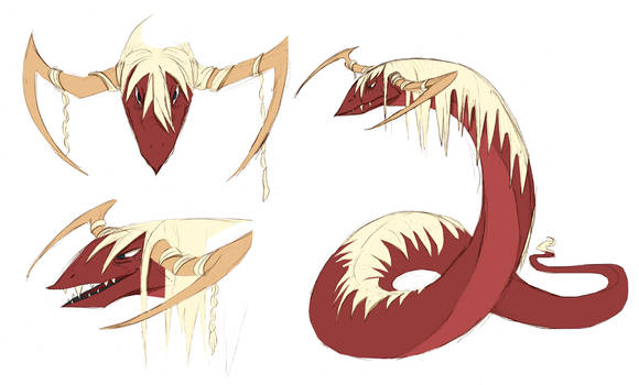 Scalifrax the Worm