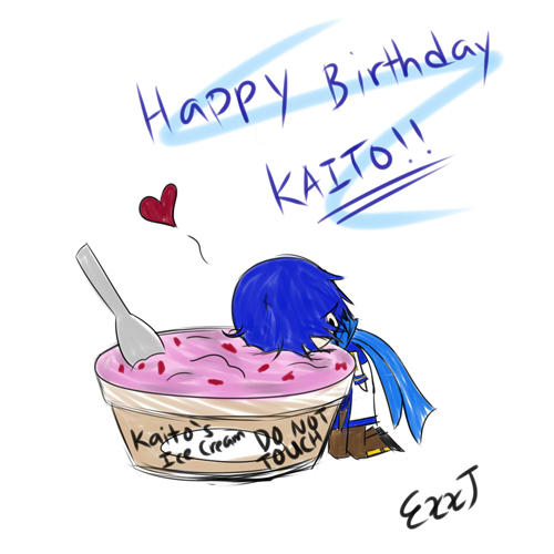 Happy Birthday KAITO By PrinceKara On DeviantArt