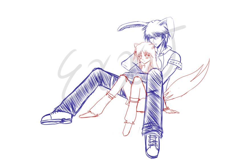 Maplestory - Bunny + Wolf by PrinceKara