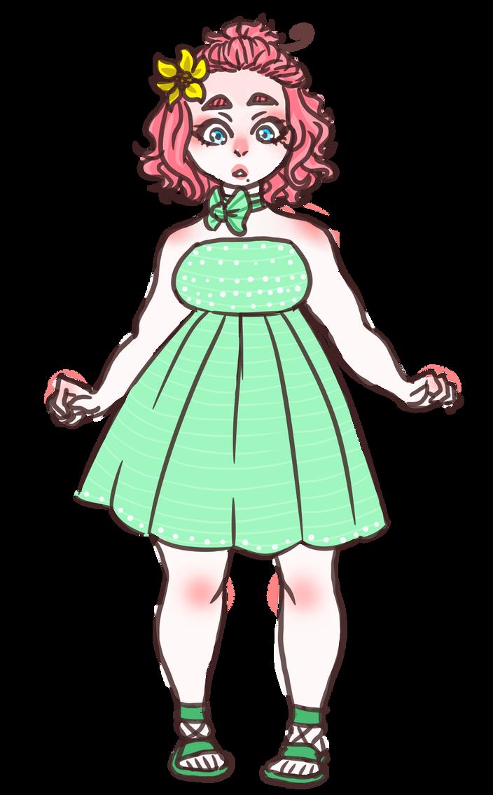 fancy girl by DEM0N-FRUIT