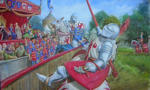 Joust in Medieval England