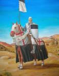 Templar standard bearer