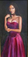 Maroon Dress by dashinvaine