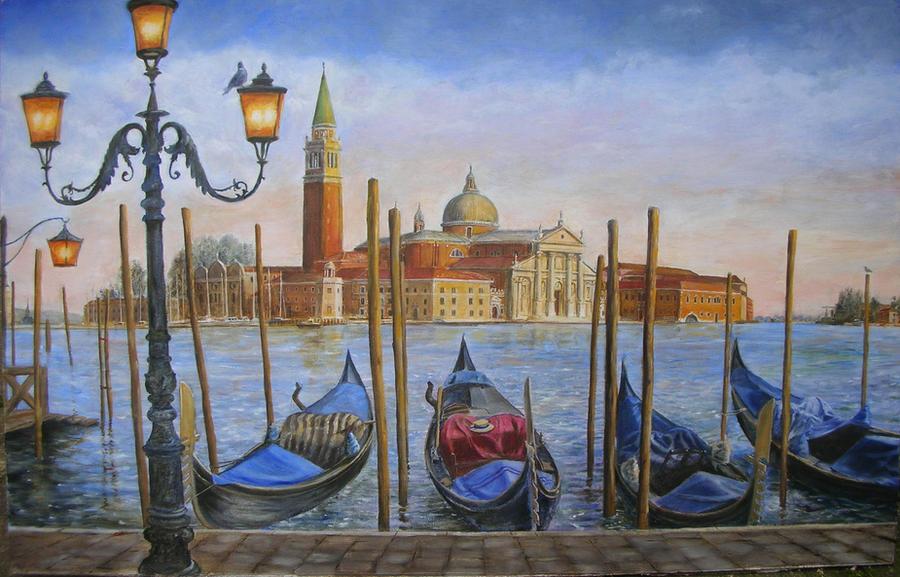 San Giorgio Maggiore by dashinvaine
