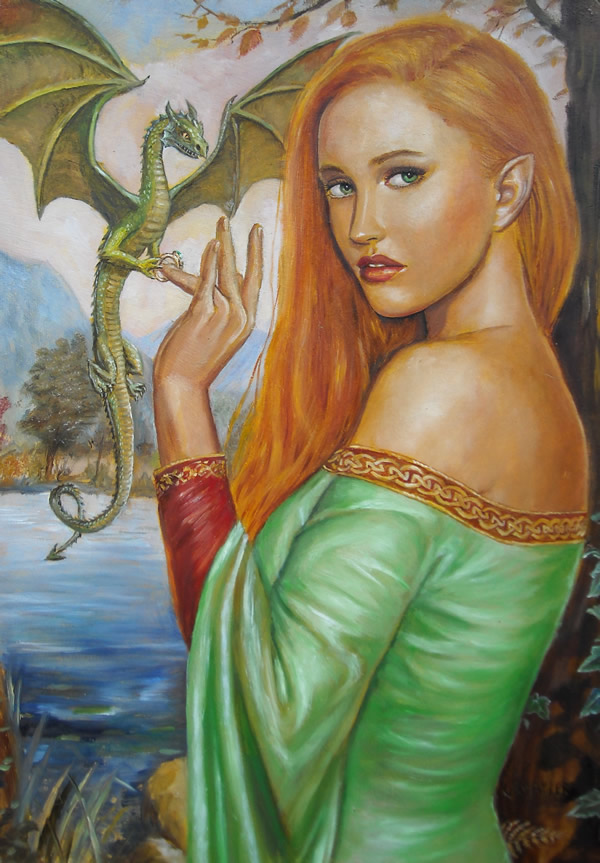 Tamlina and the Dragon's Ring by dashinvaine