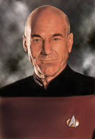 Captain Picard fin by dashinvaine