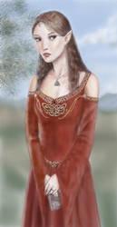 Elf Princess coloured