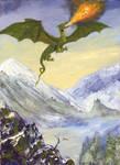 Young Alpine Dragon