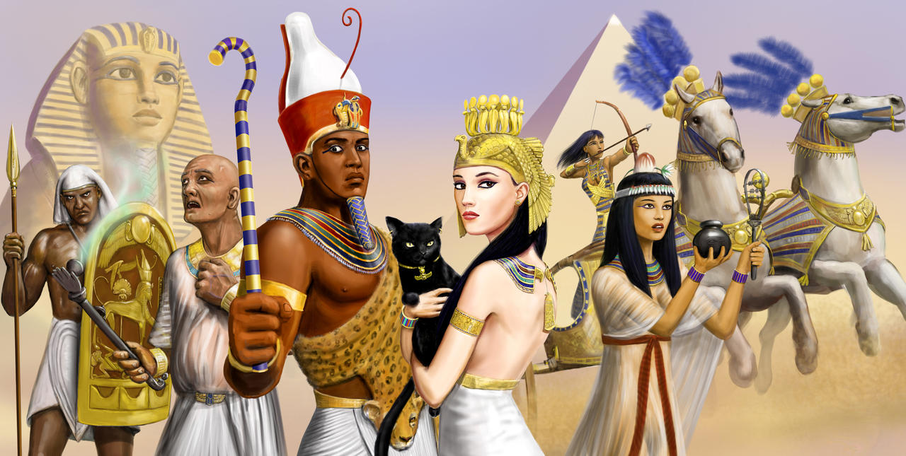Ancient Egypt By Vanessa Cortes
