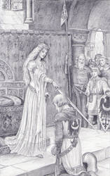 The Accolade, after Leighton by dashinvaine