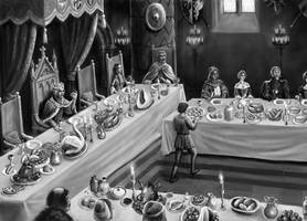 Banquet scene. by dashinvaine