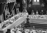 Banquet scene.