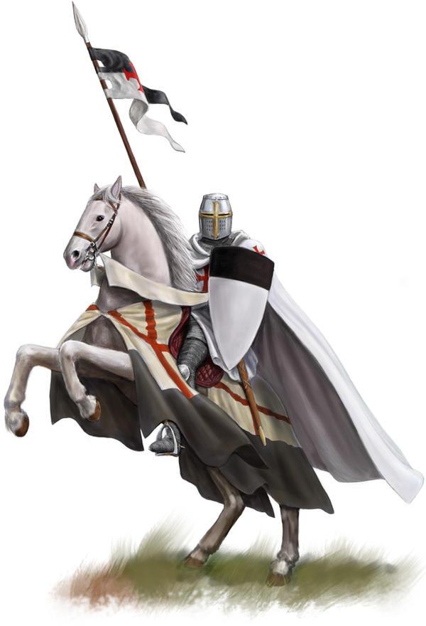 Templar on Rearing Horse digi by dashinvaine